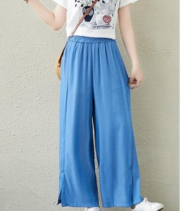Ladies Rayon Denim Pants 2 Colors