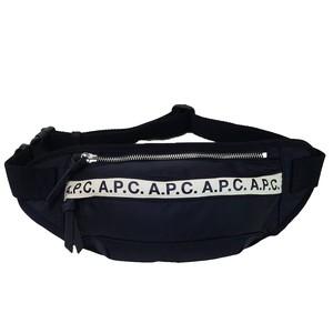 A.P.C. ボディバッグ BANANE REPEAT BELT BAG PAACL H62129 メンズ NOIR LZZ アーペーセー