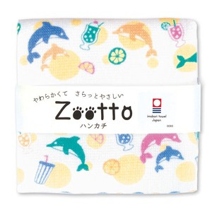 IMABARI TOWEL Fruit Gauze Handkerchief Animal Zoo