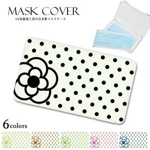 【2020新作】《日本製》カメリア デザイン マスクケース マスクカバー 不織布 マスク 不織布マスク