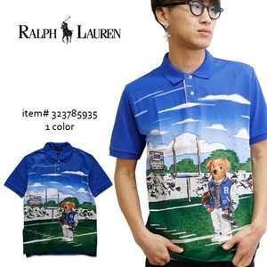 Flow POLO Football Polo Shirt Short Sleeve Bear