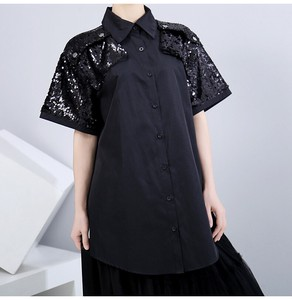 Top Fashion Ladies Short Sleeve Shirt