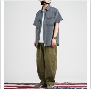 S/S Leisurely Straight Overall