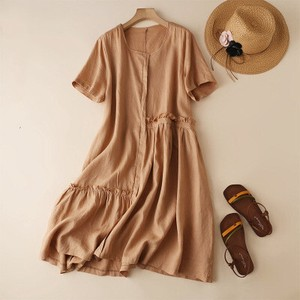 Cotton One-piece Dress