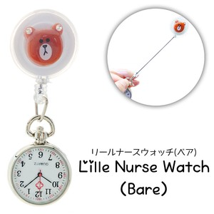 Nurse Watch Type Bear Pocket Watch Salon
