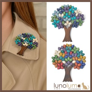 Brooch Wood Natural Material Tree Motif Girly Philippines Ladies