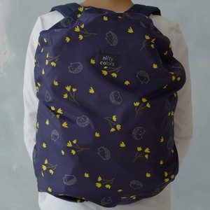 Water-Repellent Storage Pouch Attached Hedgehog Backpack Cover