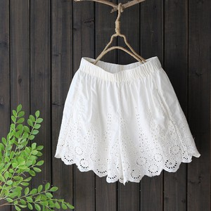 Pants Embroidery Casual Shorts