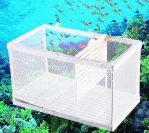 魚 繁殖隔離ボックス 孵化 メッシュ製 産卵箱<アクアリウム用品>