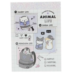 Memo Pad ANIMAL Memo Pad Fashion