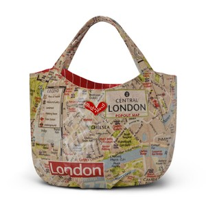 London Map Bag