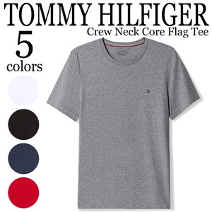 《即納》TOMMY HILFIGER《定番》■半袖Tシャツ■Crew Neck Core Flag Tee