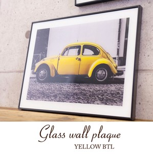 """2020 New Item"" Glass Wall YELLOW"