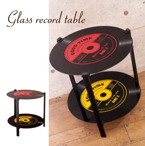 Glass Table 2 Steps Table