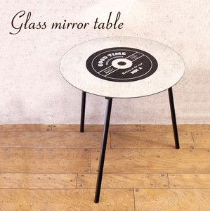 Glass Table Mirror Table