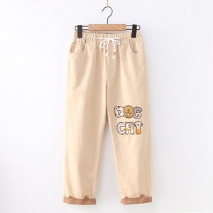 S/S Ladies Animation 9/10Length Pants Pants