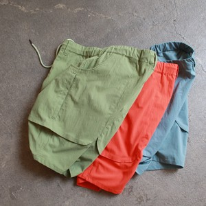 Cotton Nylon Pocket Shorts