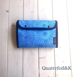 Sunflower Multi Case Mother And Child Notebook Case Parsons Can Use blue