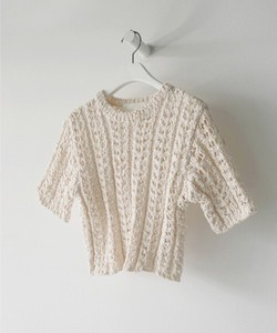 Special price Summer Knitted Watermark Design Top