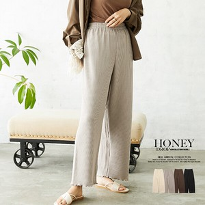 Knitted wide pants Bottom