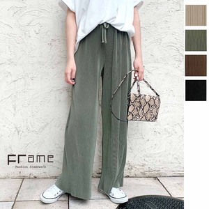 [ 2020NewItem ] Reserved items New Color Toyayanagi Pleats Straight Pants
