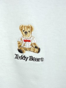 [ 2020NewItem ] Teddy Bear Embroidery Short Sleeve T-shirt