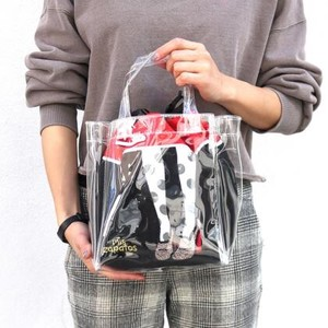 Balloon Skirt Pouch Attached Clear Bag