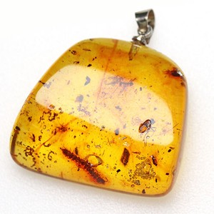 Colombia Natural Amber Natural Amber Pendant Head