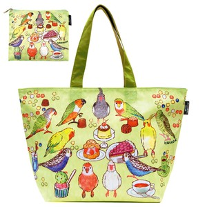 Cold Insulation Bag Parakeet Party Folded Shopping Bag