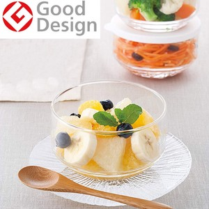 Pack Glass Bowl Storage Container White Derica Dishwasher
