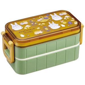Cold Insulation Lunch Box 2 Steps Totoro