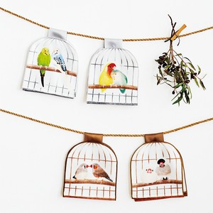 Small Birds Small Birds Birdcage Face Towel