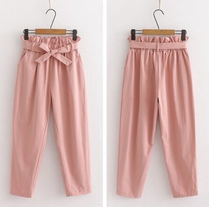 Ladies Plain 9/10Length Pants Pants 11 Colors