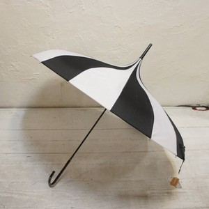 Stripe Circus Tent Umbrella Black White