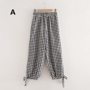 Ladies Checkered Pants