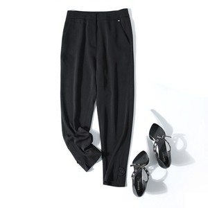 Ladies Pants Black Cropped Pants