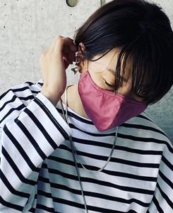 【2020春夏新作】デザインマスク C/#22 ピンク