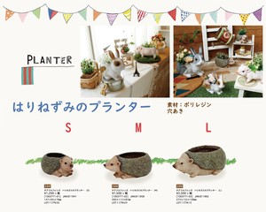Cheerful Friends Hedgehog Planter Gardening