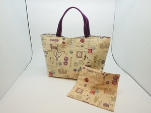 Funwari Making Larger Tote Bag Handkerchief Attached Cat [ 2020NewItem ]