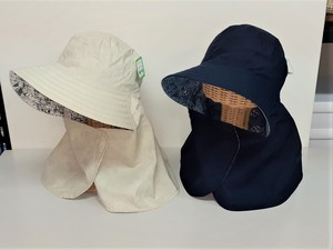 S/S Attached Reversible Hat Plain Animal