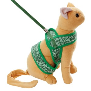 Cat soft Harness reed Arabesque Green