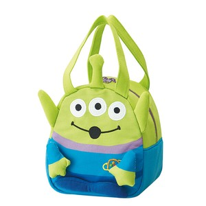Sweat Material Die Cut Bag Alien