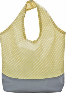 Eco Bag Pattern YELLOW STRIPE