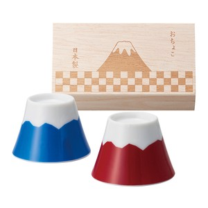 Mt. Fuji Choko Mt. Fuji Wood Boxed Choko Made in Japan