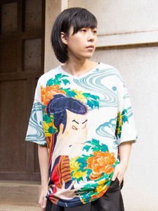 Ukiyoe(A Woodblock Print) Men's T-shirt