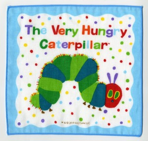 Hungry Bug, Flower & Plant Book Gauze Handkerchief 4 Pcs Set