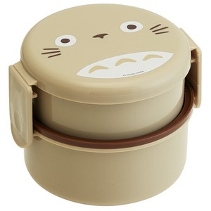 Round shape Lunch Box 2 Steps Totoro