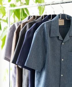 【2020新作】今季の定番オープンカラー半袖シャツ