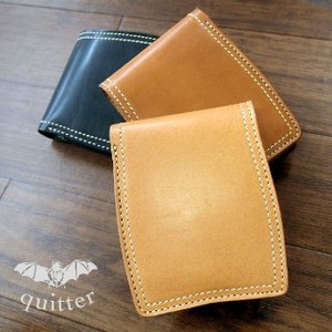 Tochigi Leather Oil Tan Leather Wallet Clamshell Wallet Maid Japan Two