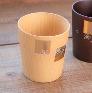 Vivid Cup and Makie Cup Gold Natural